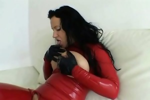 horny violent latex cutie fetish hardcore
