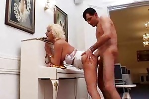 breasty mommy loves unfathomable anal sex
