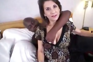 non-professional brunette hair mother i ir fucked