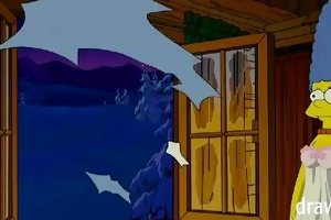 simpsons anime - cabin of love