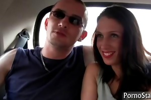 horny tammie lee rides large plump schlong part3