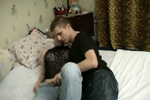 unfathomable banging with legal age teenager pair