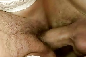 unshaved granny acquires screwed hard