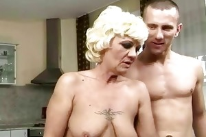 hawt granny enjoys priceless fucking