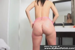 d like to fuck worship perfect a-hole in fishnet