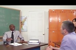 sexually excited teacher anal cuckold for large