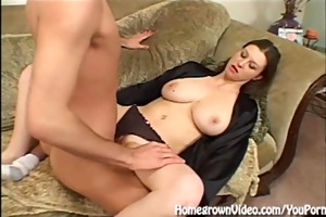 cockhungry housewife copulates wildly