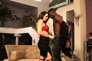 breasty white mother i engulfing on huge black