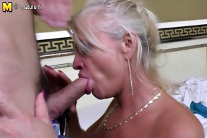 real aged mama screwed by her toy lad