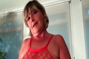 bbw blond marital-device bonks her aged bawdy