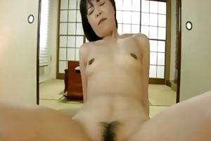 rie katano aged japan mama bushy slit