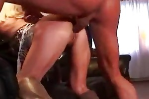 mother i pierced blonde in boots getting screwed