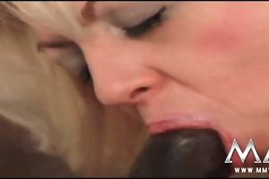 german housewife anal screwed by large dark rod