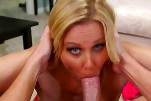 breasty mother i bombshell julia ann facialed