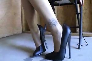 torture loving sweetheart in bizarre femdom