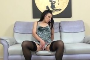 lascivious older lady in darksome nylons part3