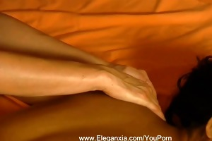 erotic lesbian babes massage after work