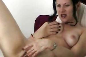 cam mother i masturbates and sucks knob