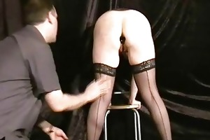 buttplugged older wife slaves humiliation