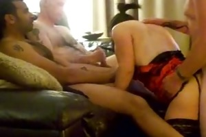 homemade gang group-sex with swinger wife