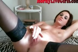 sexy mother i fingers to agonorgasmos om cam part