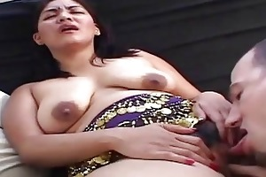hawt indian wife prefers sexy oral-stimulation sex