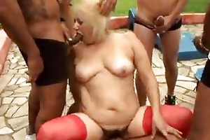 aged granny blond victoria group sex outdoor sex