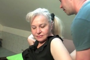 grandma in heat needs to acquire off on a cock