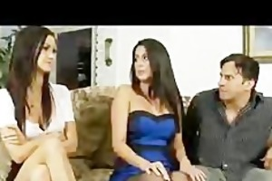 slim legal age teenager daughter and mama share a
