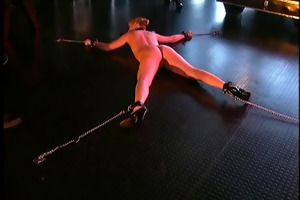 nina hartley enjoying a thraldom session with a