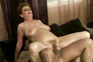 granny enjoys wicked sex in public crapper