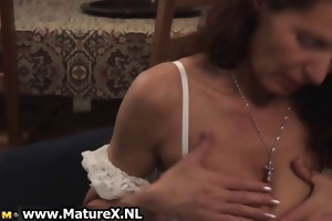 lascivious aged woman squeezes part3