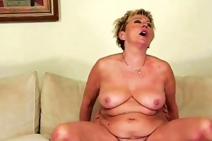 sexy granny enjoying wicked sex