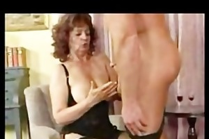 german granny analysed by a masseur