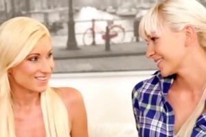 doghouse exceedingly hawt blond lesbian copulates