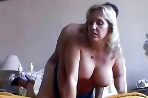 beautiful busty aged chick boned and blasted
