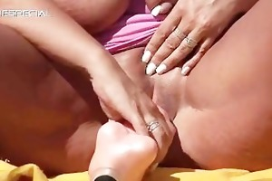 excited milf acquires screwed hard outdoor part2