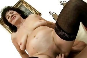 naughty granny enjoys admirable fucking